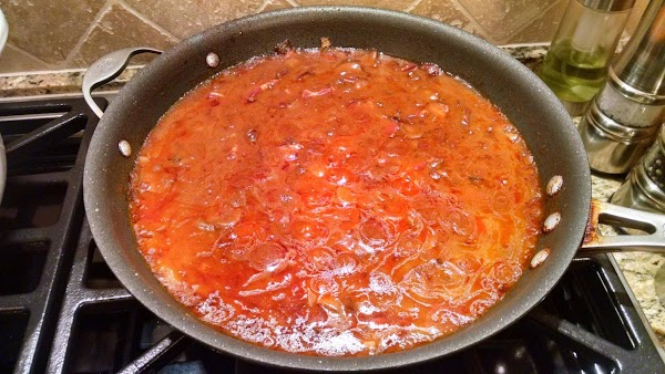 Stir often, adding more paprika...continue to heat until bubbly hot...