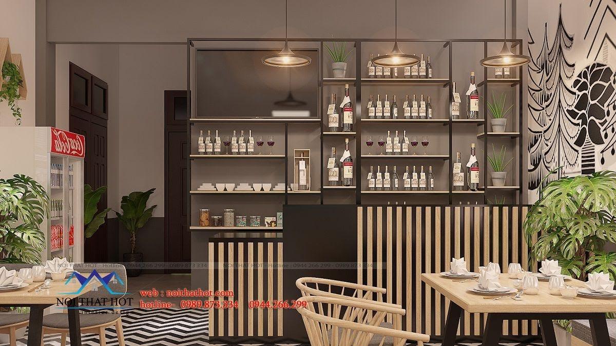 thiết kế nhà hàng trường giang 15