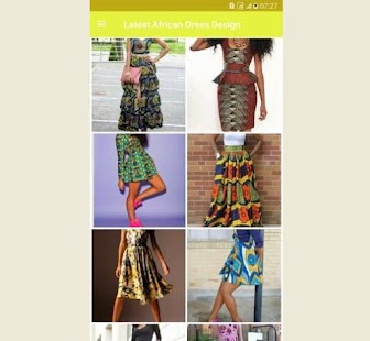 Latest African Dress Design- screenshot thumbnail