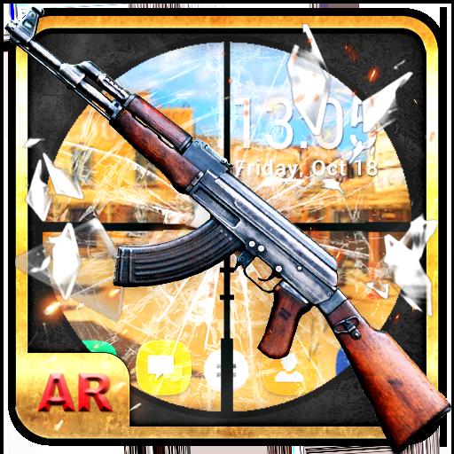 Gun shooting Live & transparent Wallpaper Free – Apps bei