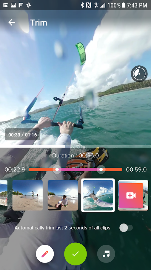 V360 - 360 video editor – Screenshot