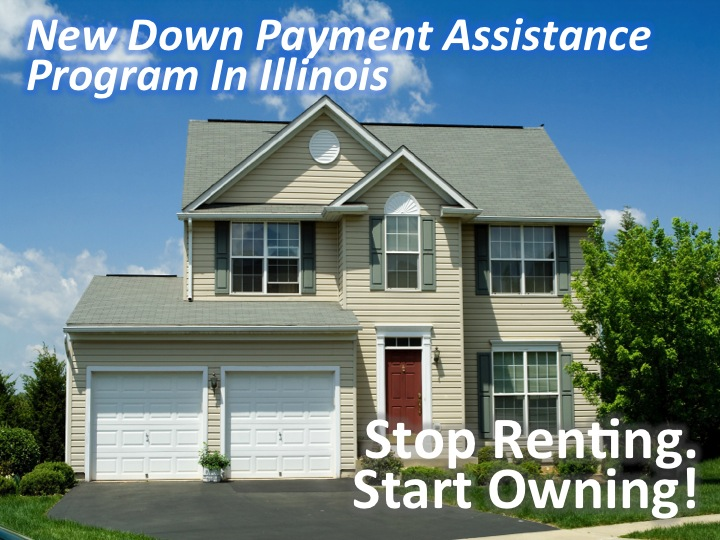 Aurora, IL - Down Payment Assistance To Purchase A Home!  (December 8, 2016)