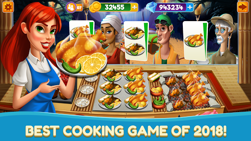 Chef Fever Kitchen Restaurant Food Cooking Games for PC