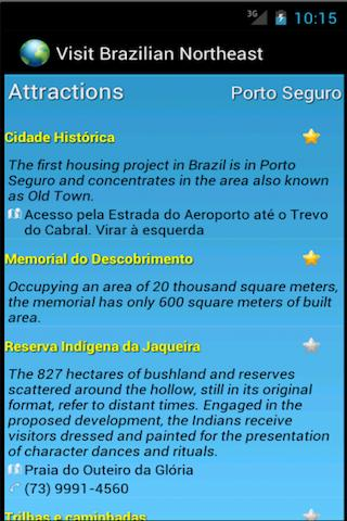 Скриншот Guide Salvador Natal Fortaleza