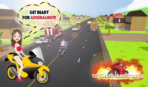 City Moto Traffic Racer