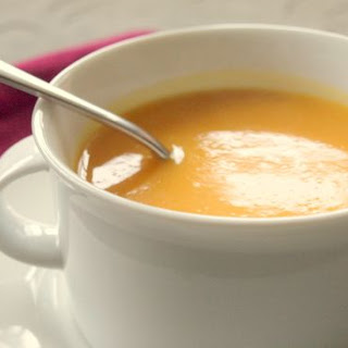 Butternut Squash & Sweet Potato Soup Recipe