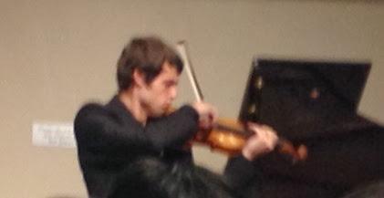 Photo: Alexey Osipov plays Ysaye, 2