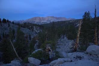 Photo: Kaweah Peaks from the John Muir Trail