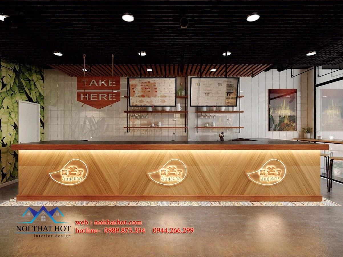 thiết kế quán cafe tại phố cổ