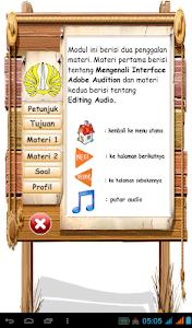 Modul Adobe Audition screenshot 1