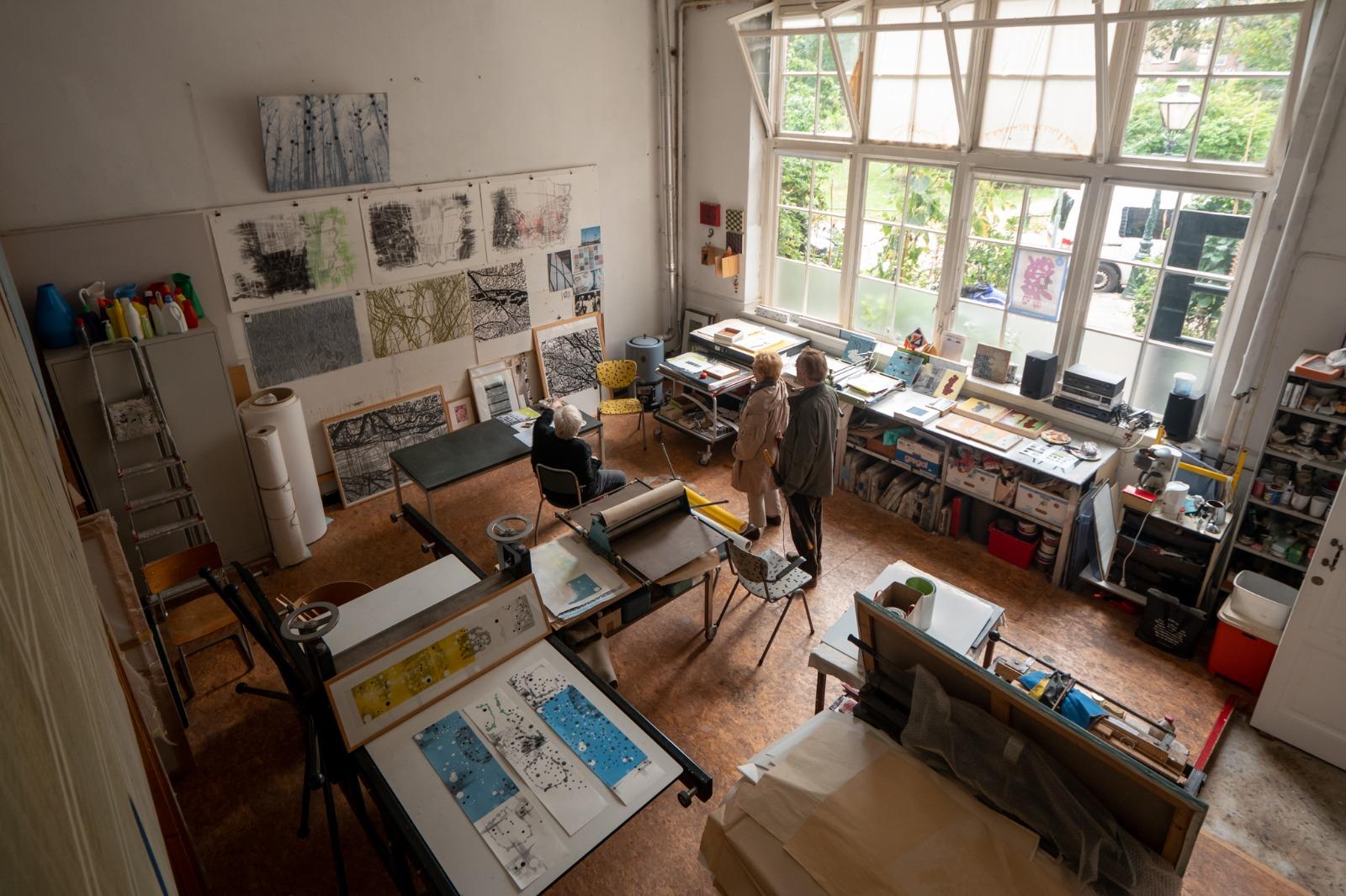 Atelier van Marijke Verhoef