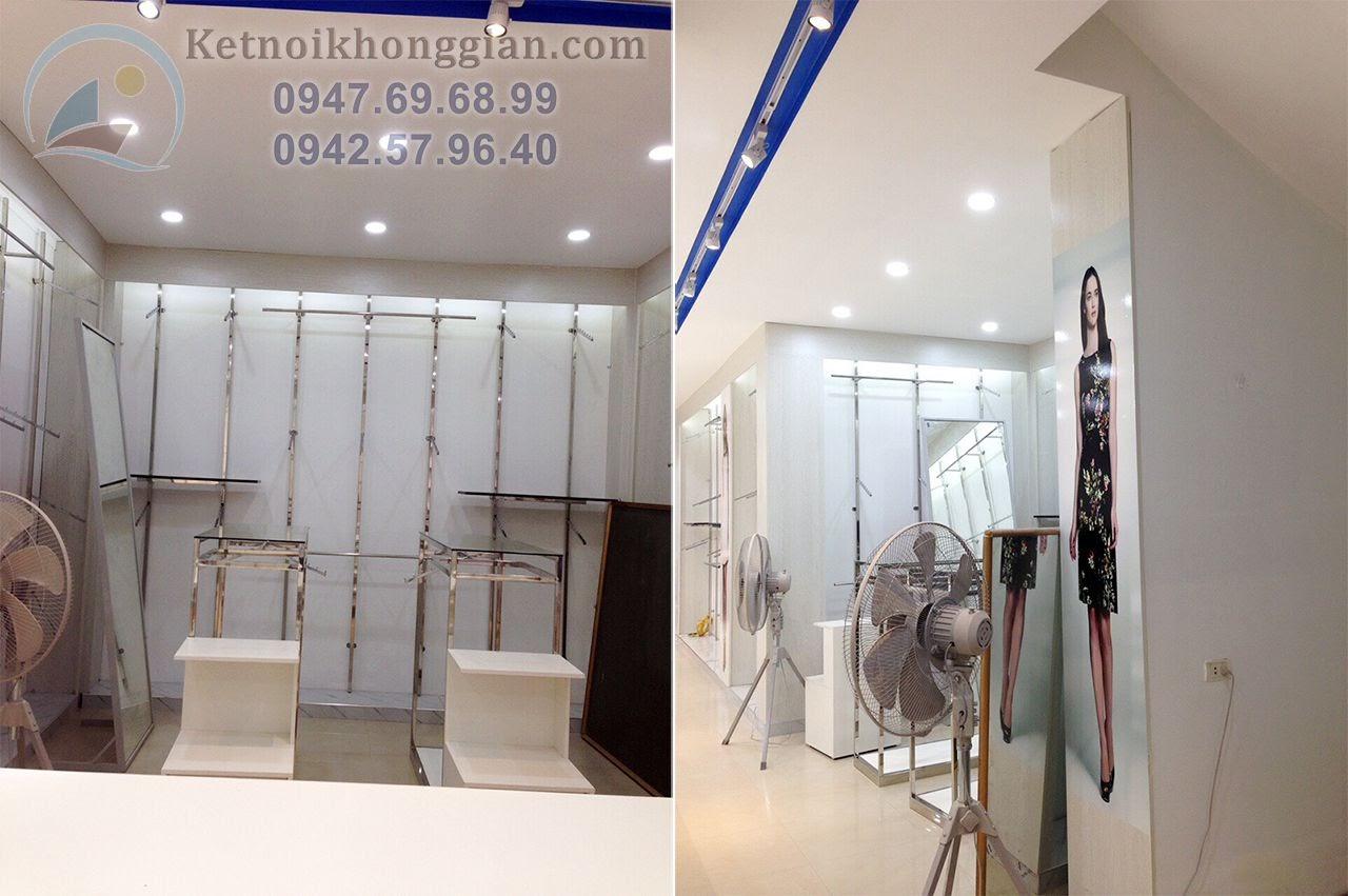 thiết kế shop thời trang sáng tạo