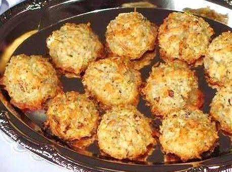 Almond - Coconut Macaroons Recipe