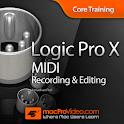 MIDI Recording for Logic Pro X icon
