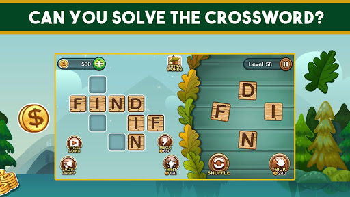 Word Nut: Word Puzzle Games & Crosswords - screenshot