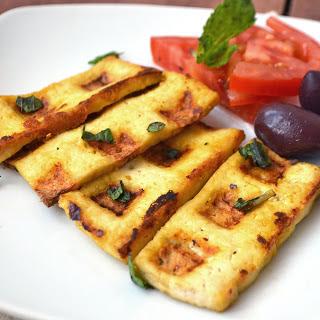 Vegan Tofu Halloumi