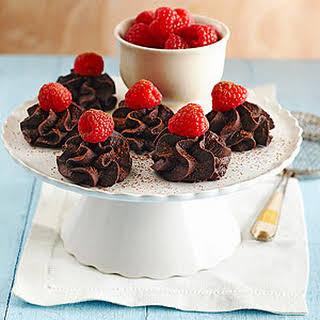 Chocolate-Raspberry Truffles.
