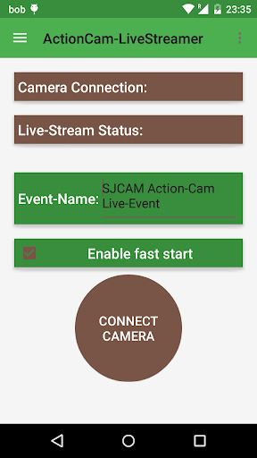 Camera Youtube Live Streamer