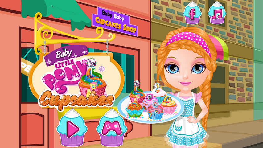 android Baby Pony Cupcakes Screenshot 9