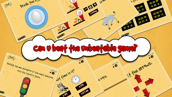 The Unbeatable Game: Tricky Test IQ - náhled
