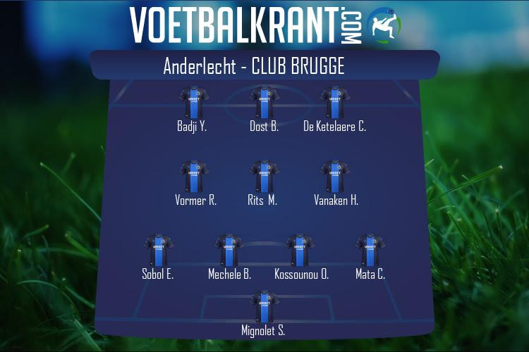 Club Brugge (Anderlecht - Club Brugge)