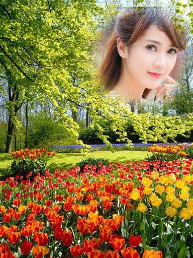 Spring Photo Frames