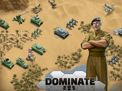 1943 Deadly Desert - a WW2 Strategy War Game 1.3.0 13