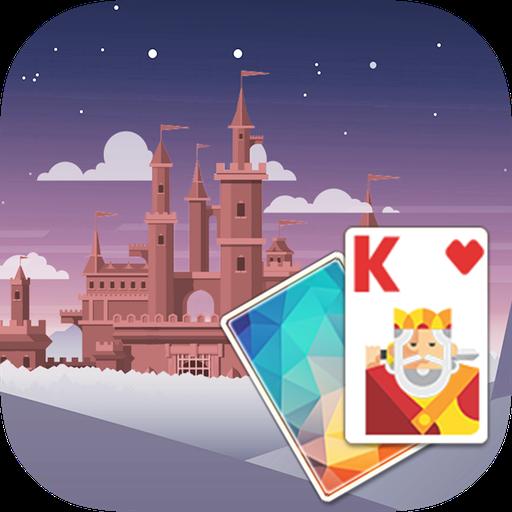 Solitaire FairyTaleCastleTheme 棋類遊戲 App LOGO-硬是要APP