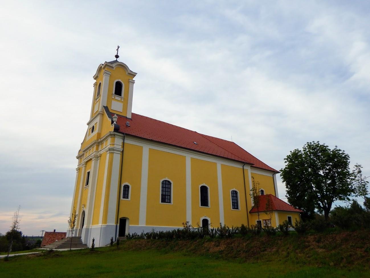 Jánosháza - Keresztelő Szent János rk. templom