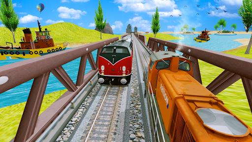 Modern Train Driving Simulator: City Train Games  screenshots 8