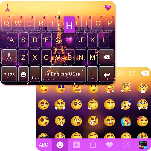 Romantic Pairs Emoji Keyboard