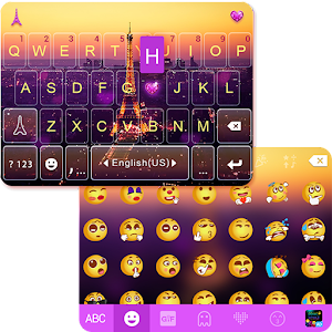 Romantic Pairs Emoji Keyboard for PC and MAC