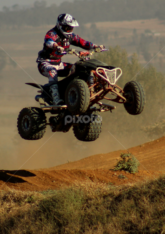 Quad by Perfect Pix - Sports & Fitness Motorsports ( track racing, motor sport, motocross, bikes, dirtbike racing, perfect pix )