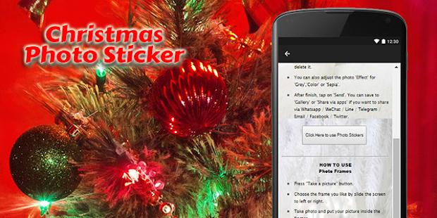 Christmas 2017 Photo Sticker - náhled