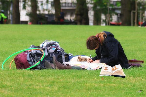 La lettura che rilassa e organizza. di carracate