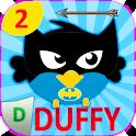 Duffy Bird Dash Superhero Bird Game 2 icon