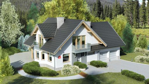 projekt Dom przy Cyprysowej 15 K3