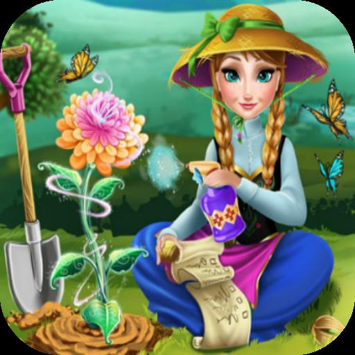 เกมส์ปลูกดอกไม้ 休閒 App LOGO-硬是要APP