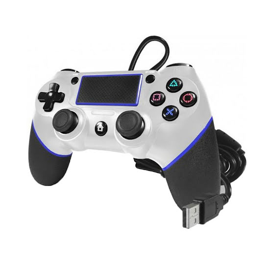 TTX PS4 Champion Wired Controller White