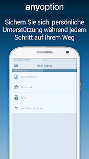 Binäre Optionen – anyoption Screenshot