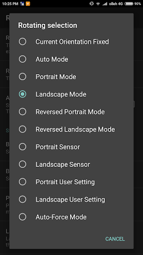 Screen rotation control pro v2.1.1 [Patched]