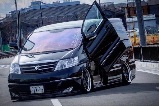 ひかるさんのアルファード10系洗車の画像