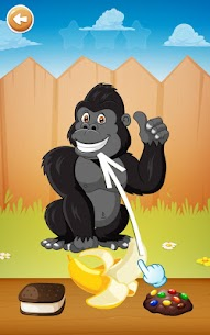 لغز الحيوانات والألعاب الترفيهية للأطفال 6