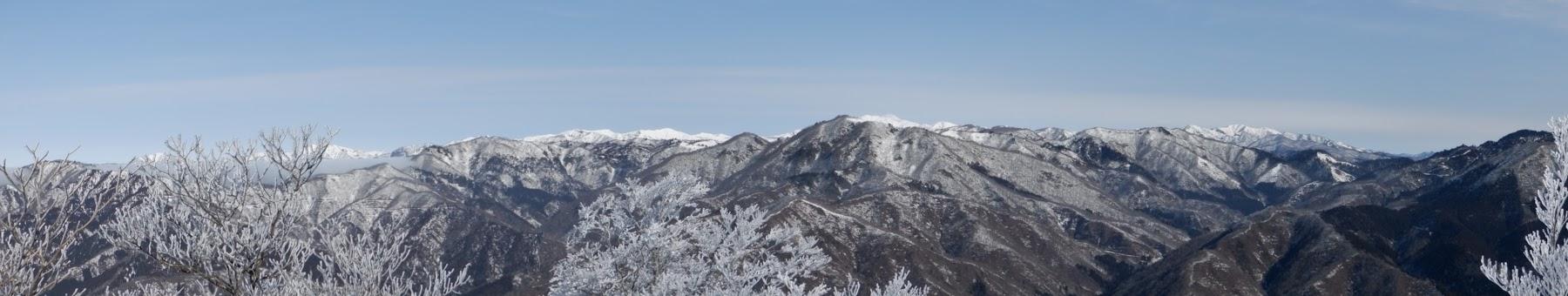 赤樽山手前からパノラマ