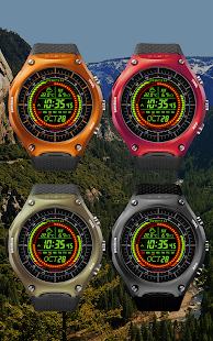 F02 WatchFace for Android Wear- screenshot thumbnail