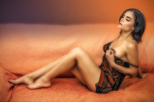 Orange glamour di Patrix