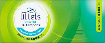 Lil Lets Tampons - Super Plus, 16 Pack