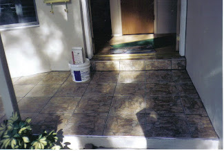 Photo: Front entery Tiled