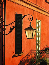 Photo: Light, color and form These all came together in a beautiful sunset hour in Bellagio, Como, Italy.