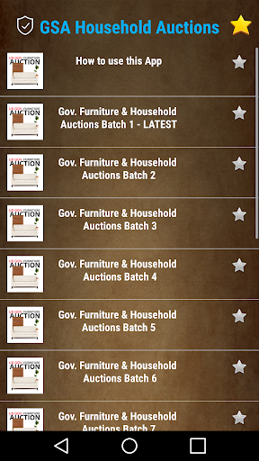 Gov. GSA Household and Furniture Auctions All USA hack tool